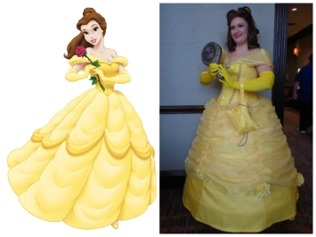 Belle's Yellow Ballgown