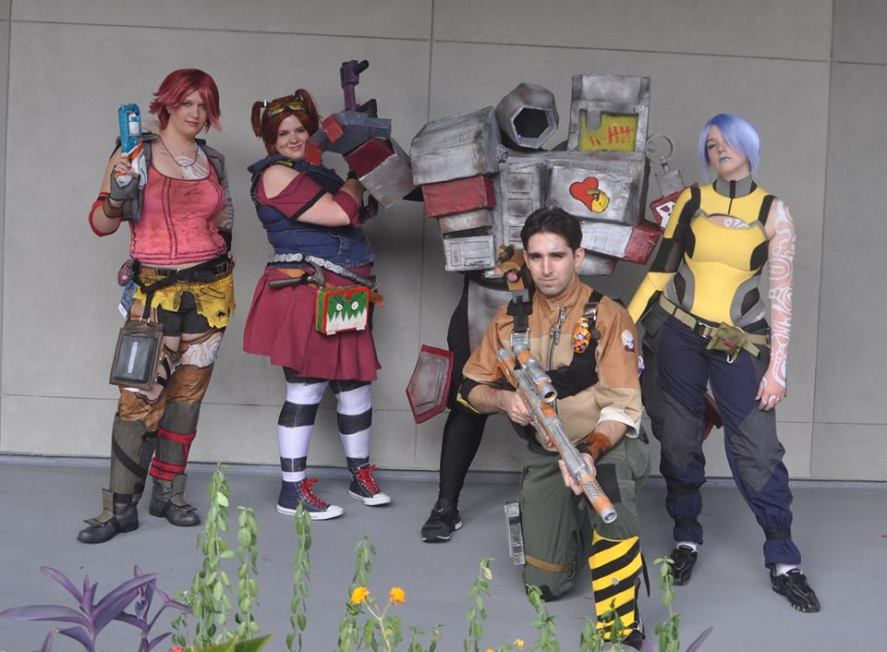 Our group at Dragon Con.