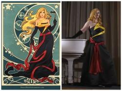 Ms. Marvel Ballgown