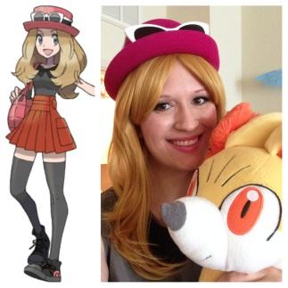 Pokemon Trainer Serena
