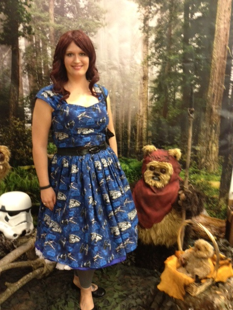 Chillin' with some ewoks. No big.