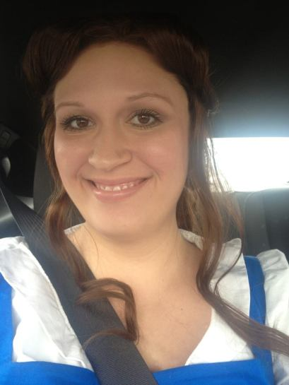My Belle selfie again, just because I think my makeup looks pretty.