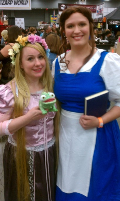 Ran into a cute Rapunzel!