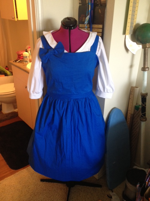 Belle dress and top