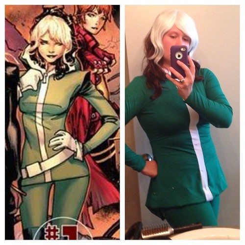 Costume Notes: Marvel Now Rogue | The Geeky Seamstress