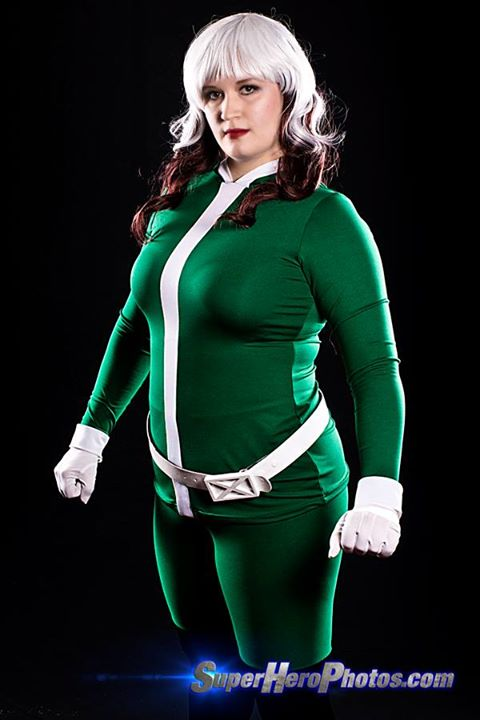 Marvel Now! Rogue, made with moleskin and milliskin spandex. Photo by Superhero Photos.