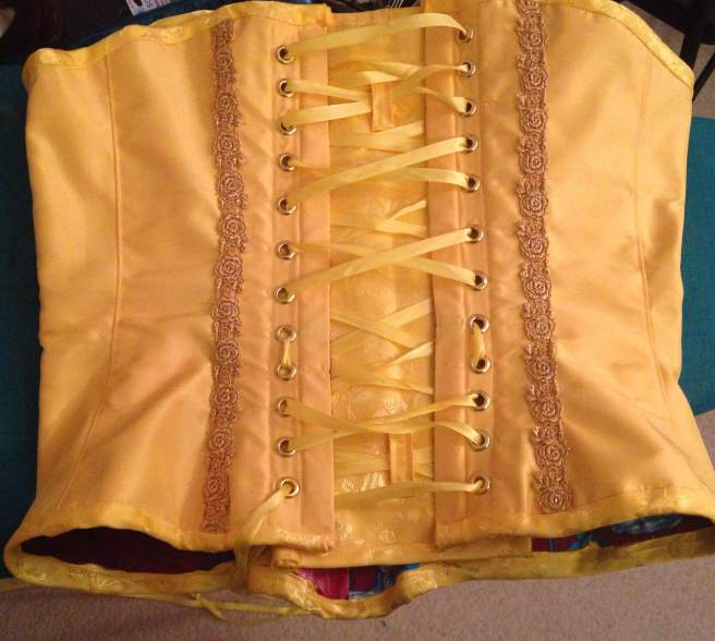 corset back