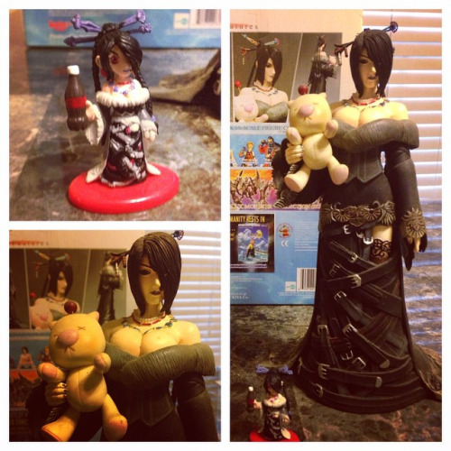 I also picked up some Lulu figures. Because... research?